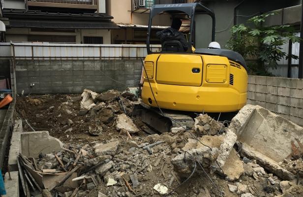 京都府向日市解体工事