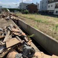 久御山町島田堤外 解体工事 画像:2