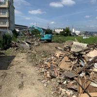 久御山町島田堤外 解体工事 画像:1