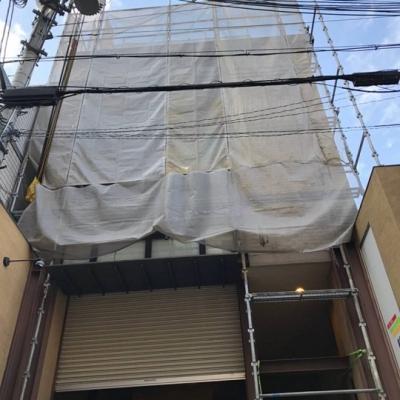 京都市下京区 ゲストハウス新築工事