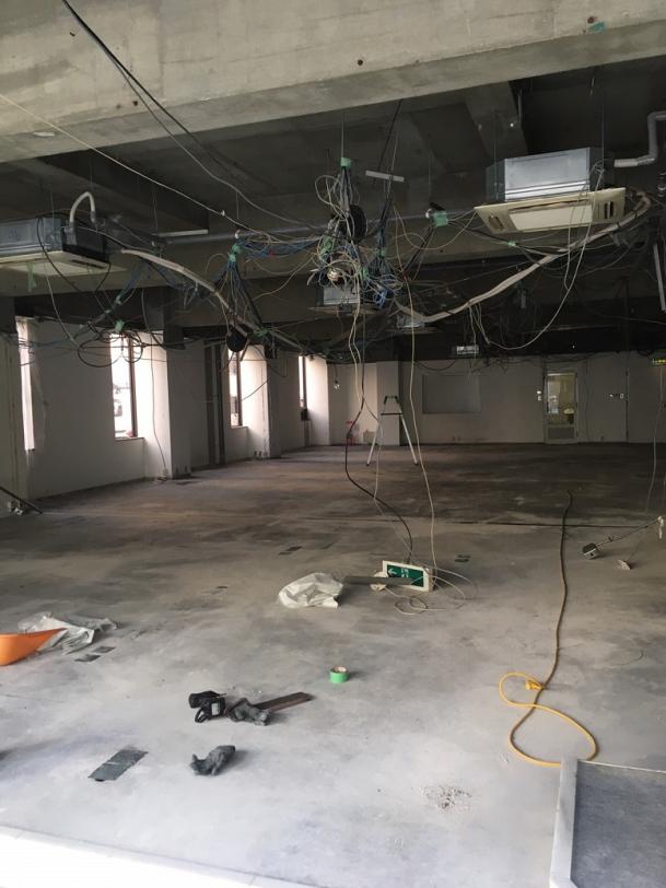 京都市中京区 新教室改装工事 画像:8
