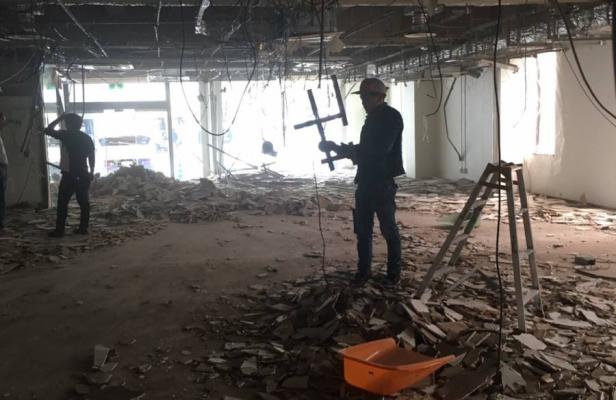 京都市中京区 新教室改装工事