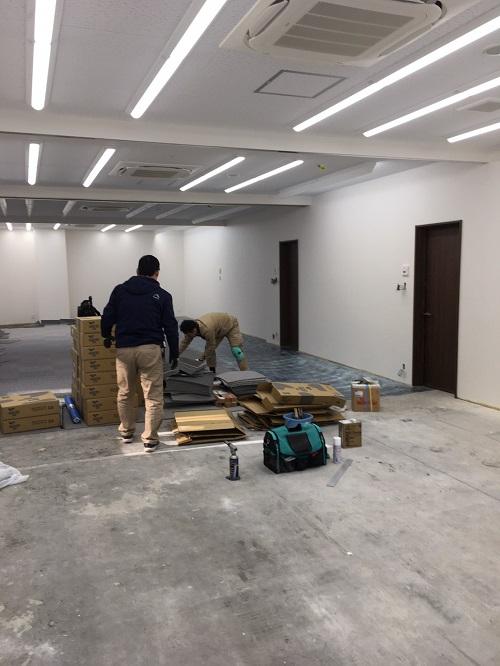 京都市中京区 新教室改装工事 画像:14