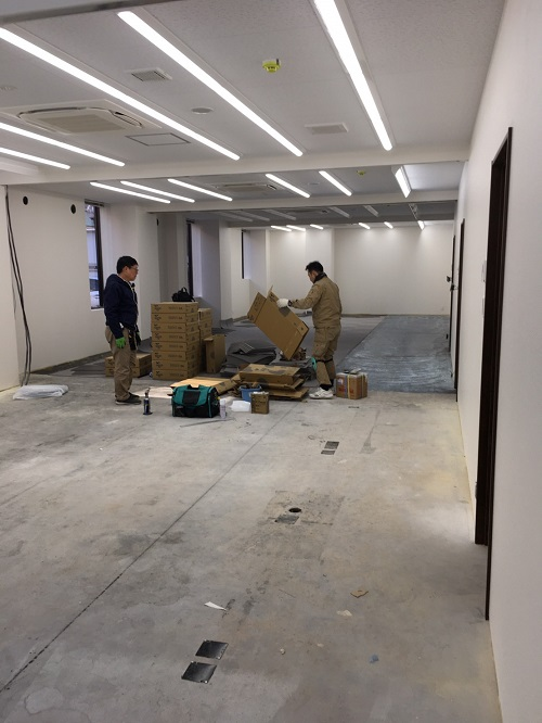 京都市中京区 新教室改装工事 画像:13