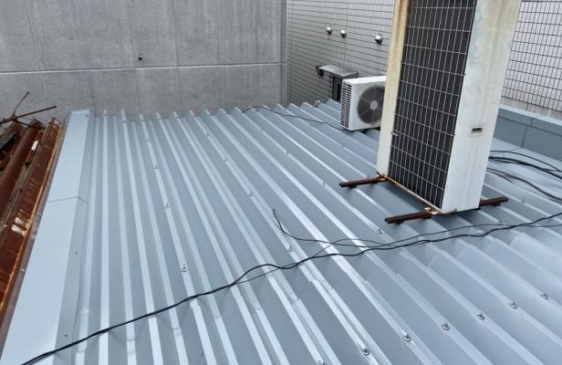 京都市右京区 店舗屋根防水改修工事